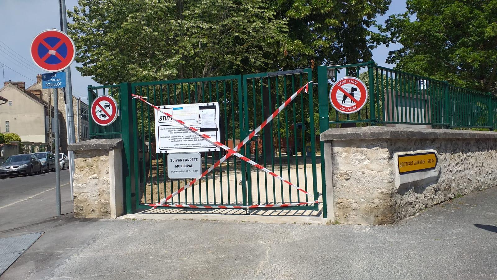parc stuttgart vahingen fermé le 2 juin 2020