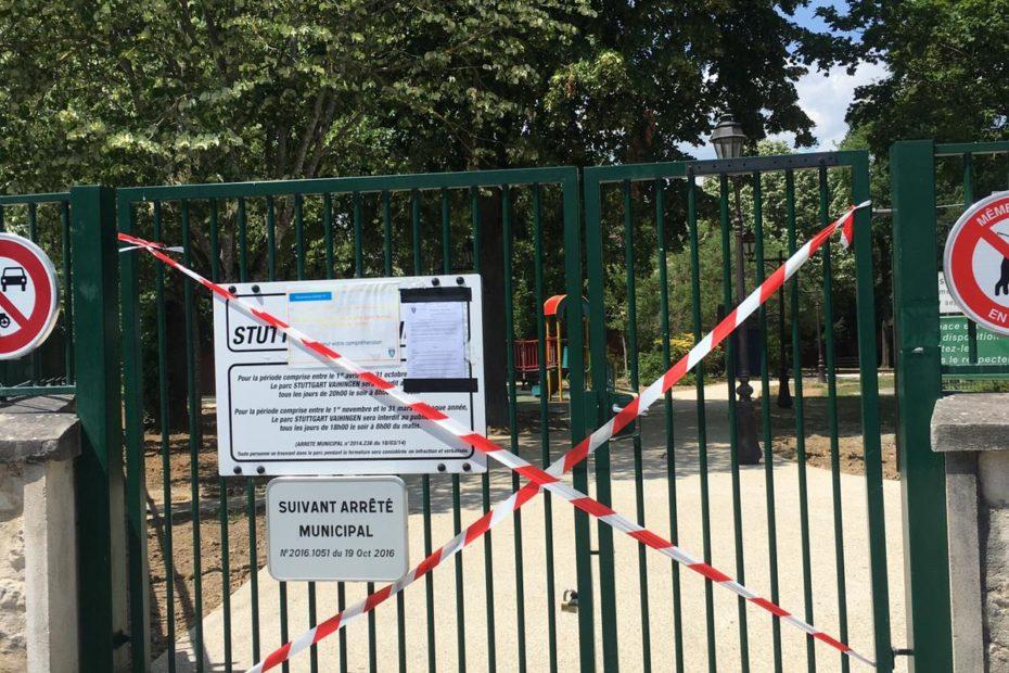 Parc Stuttgart Vaihingen entièrement fermé
